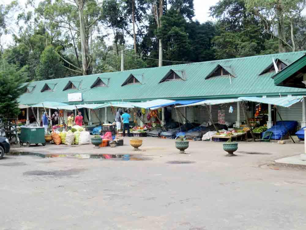 Nuwara Eliya Fruits Market