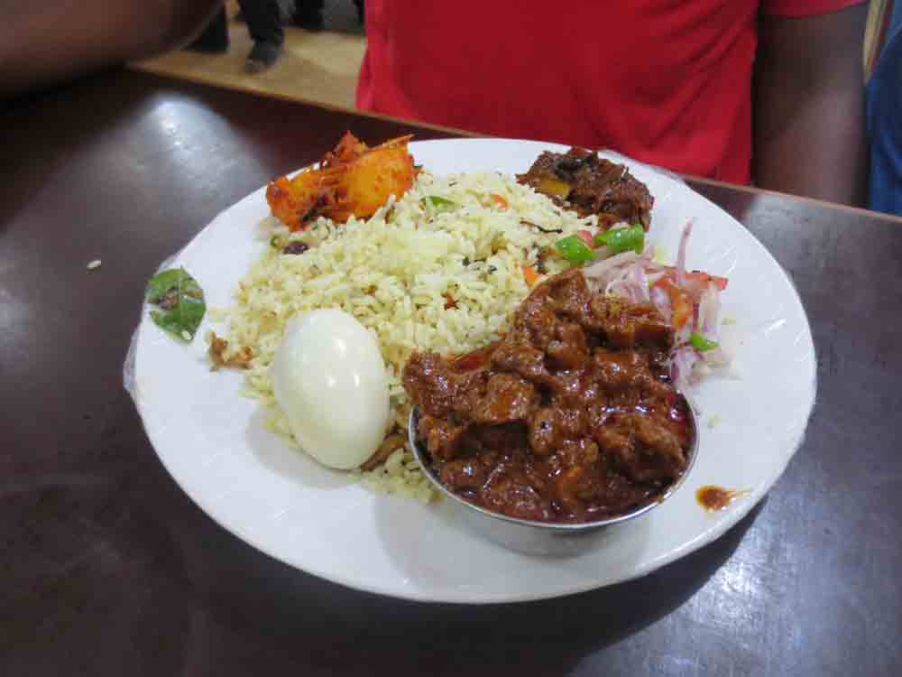 Jaffna Authentic Mutton Rice and Curry Food