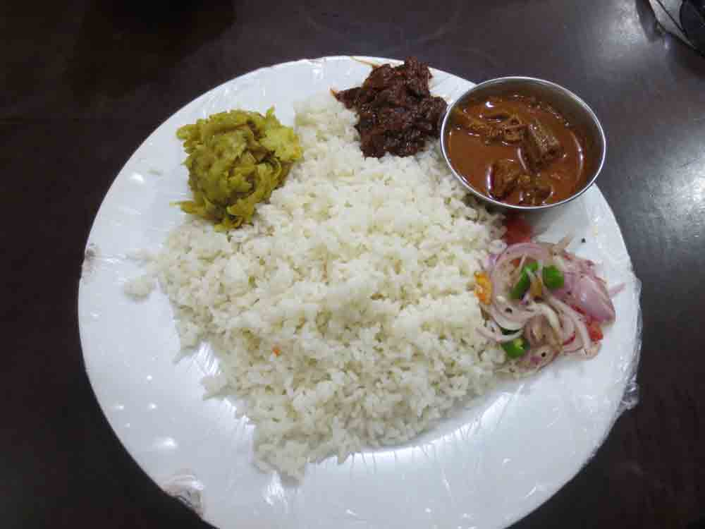 Jaffna Authentic Vegetarian Rice and Curry Food