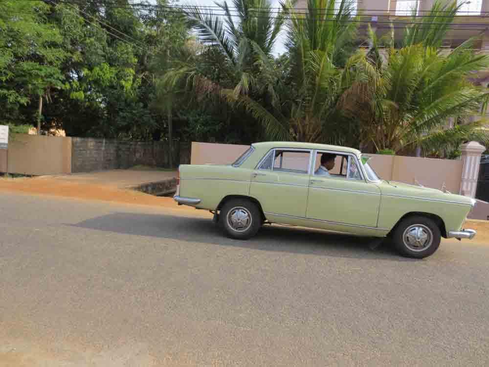 Old Cars in Jaffna