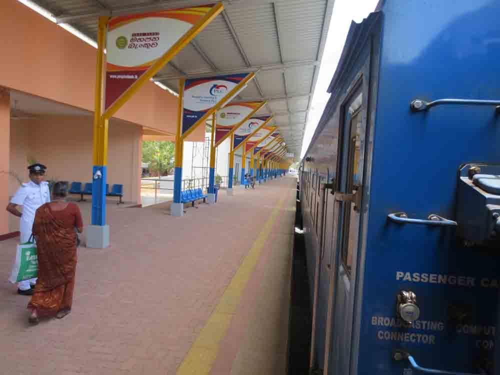 New Railway Stations In Jaffna