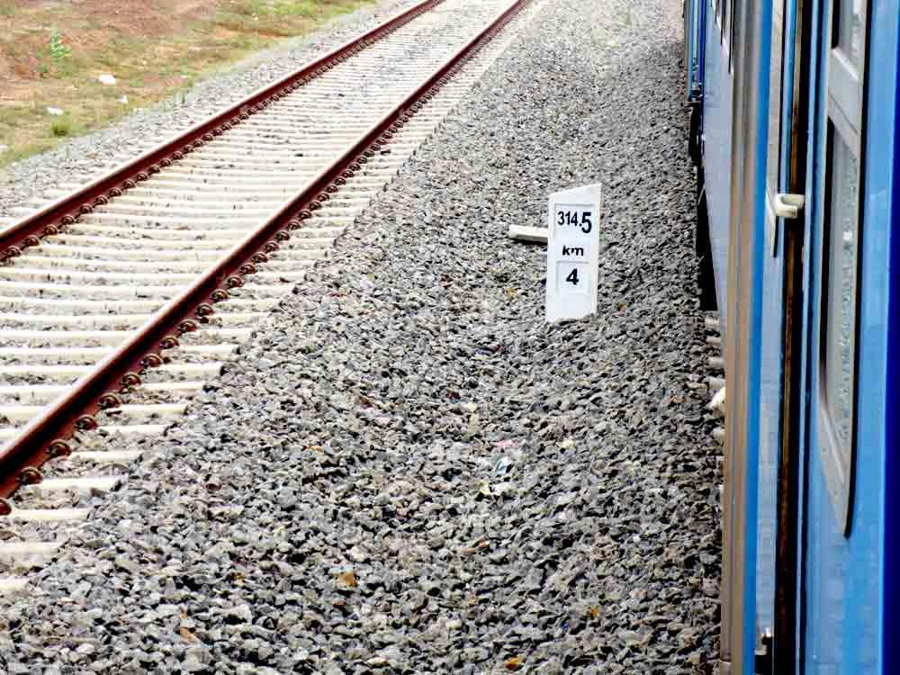 New Railway Tracks in Jaffna
