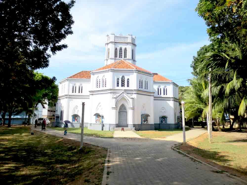OML Church In Jaffna - This is a Roman Catholic Church