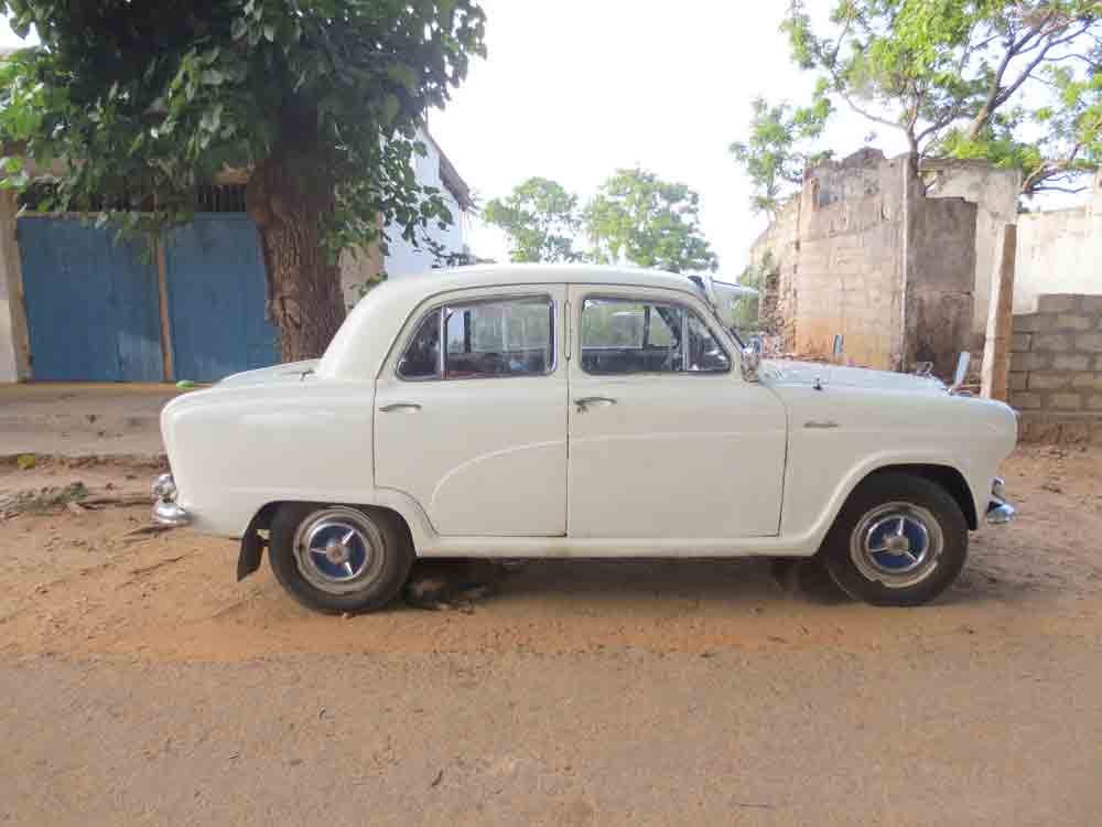 Old Car in Jaffna Town