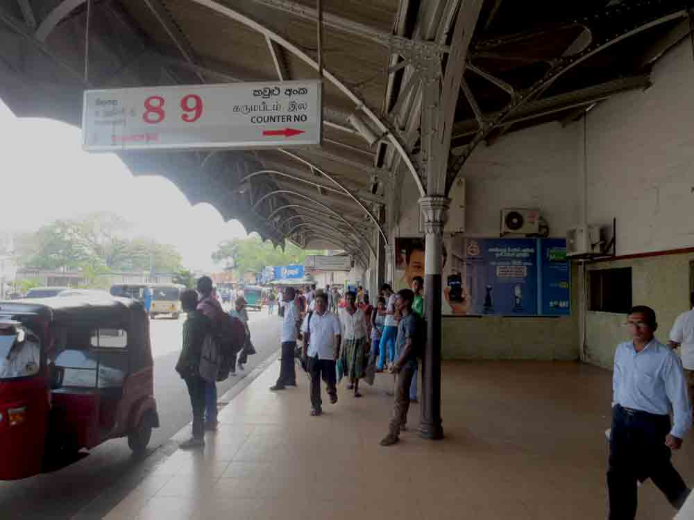 Fort Colombo Railway Station 89 Counter