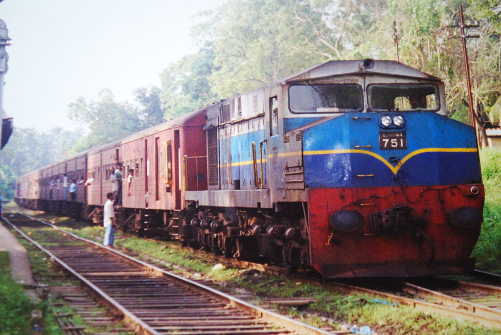 Yal Devi Old Train