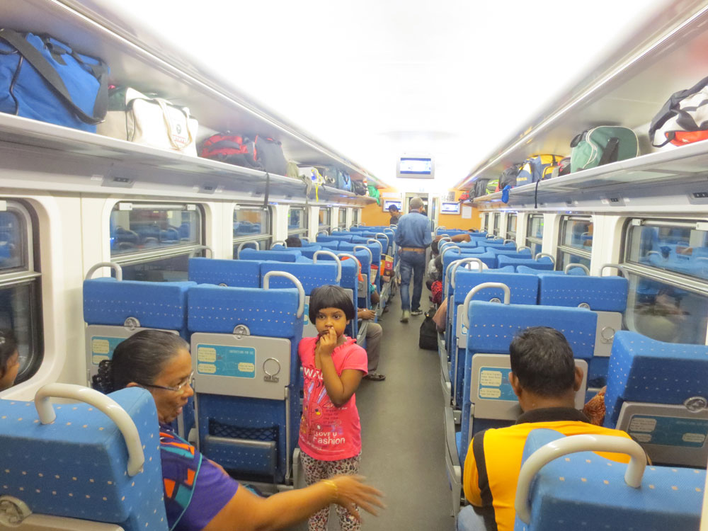 Yal Devi Train Passenter Area