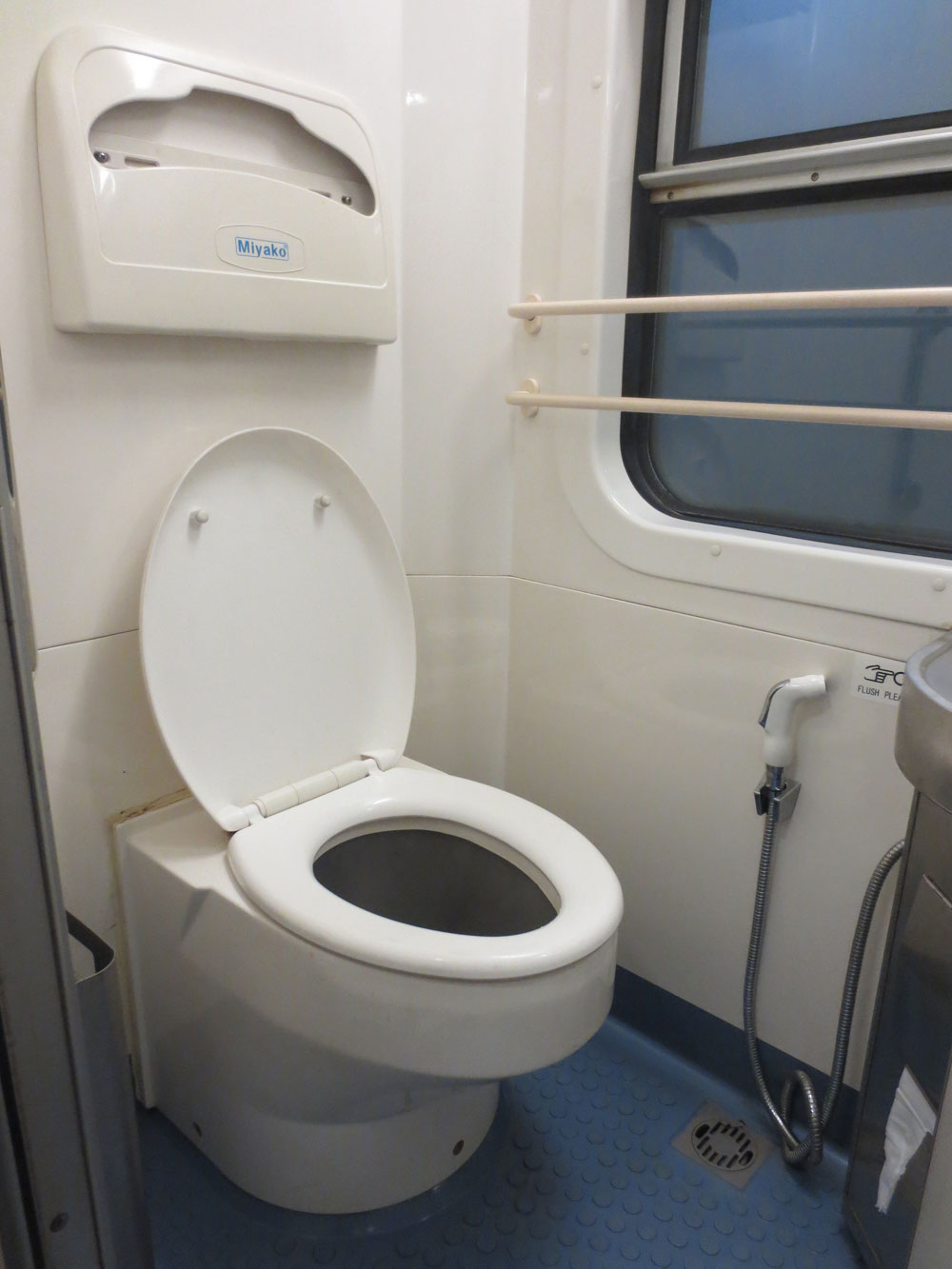 Yal Devi Train Toilet