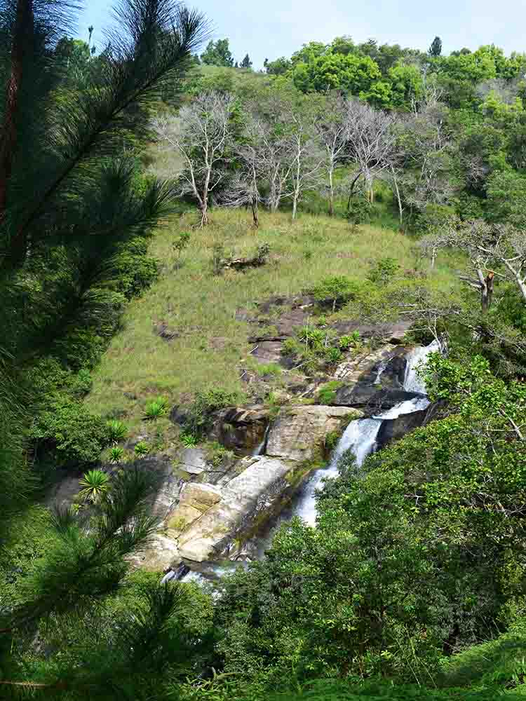 Upper Diyaluma Falls from a Distance