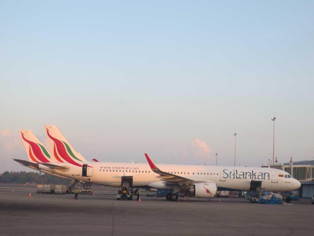 Srilankan airline Fleet Airbus A320-200