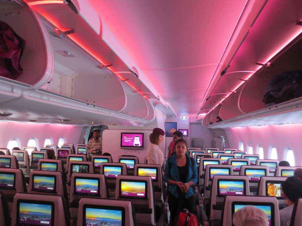 Air Bus A380-800 Seat Configuration