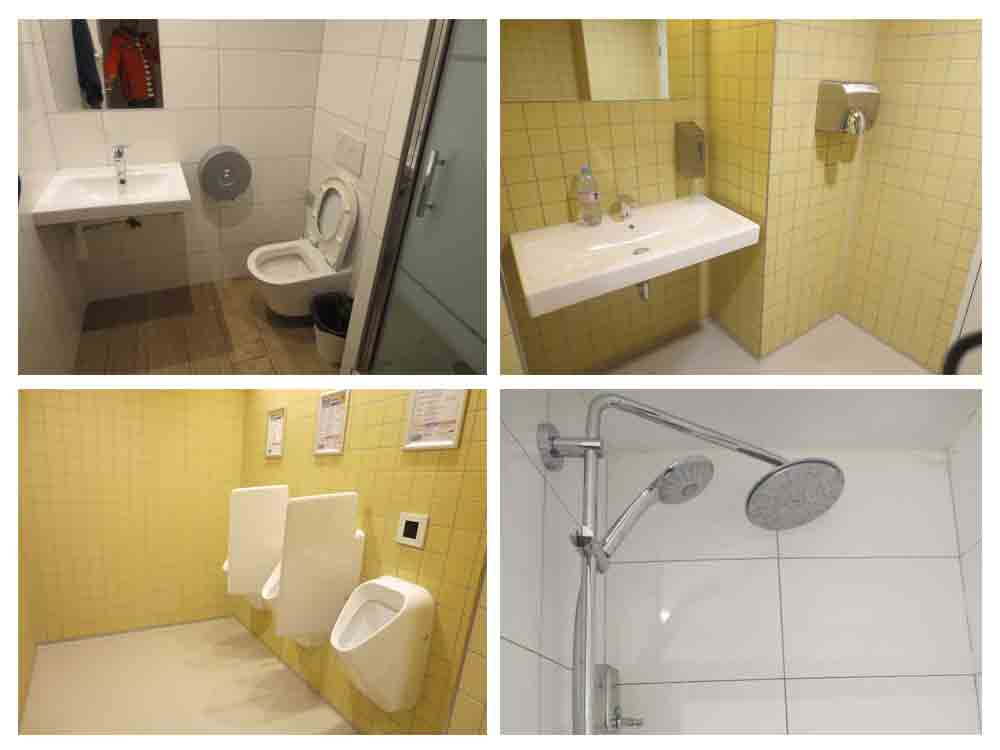 Toilets in Hostels In Europe