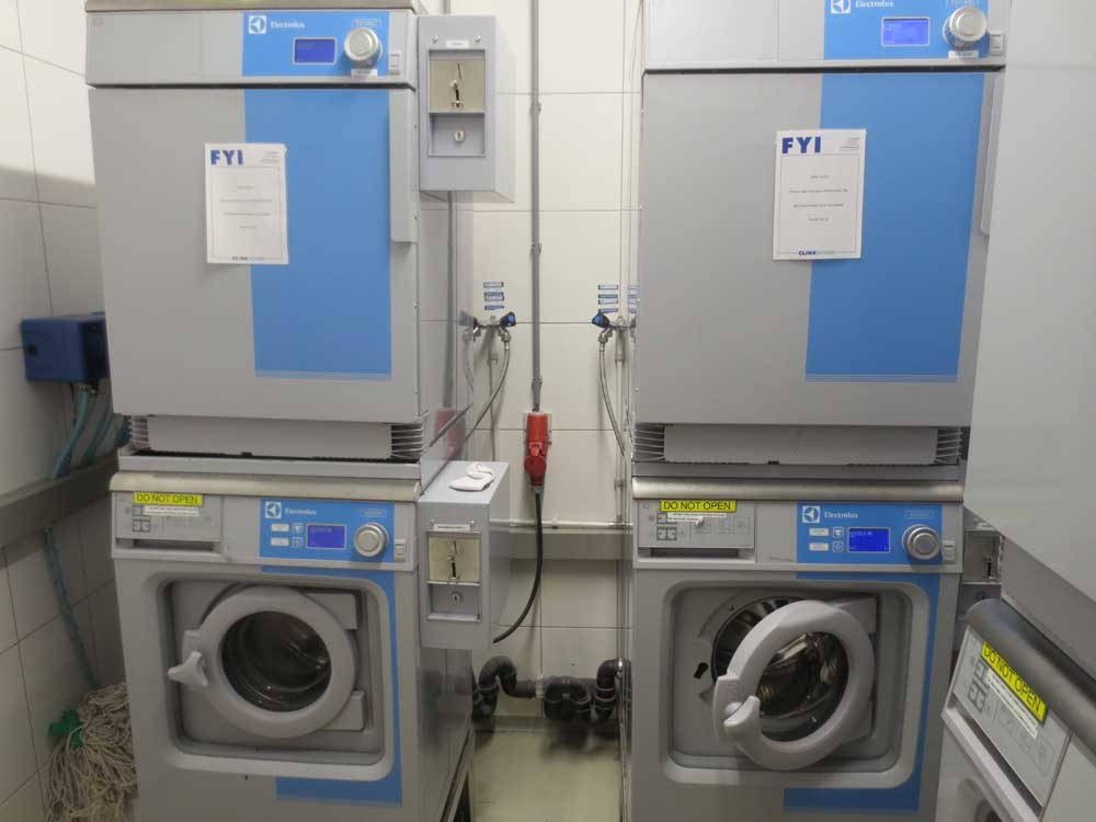 Laundry Area of CLink Hostels