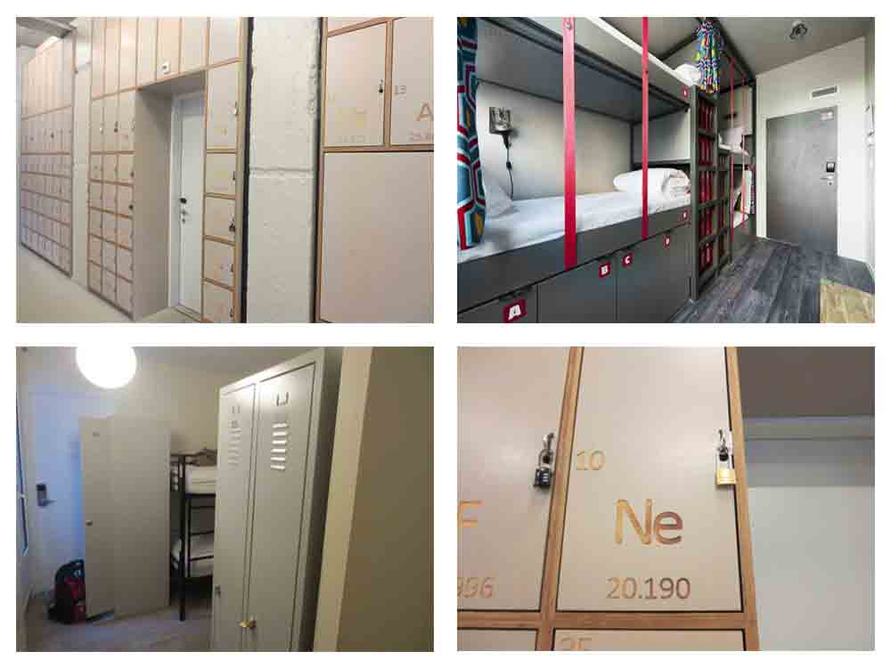Lockers Hostels in Europe