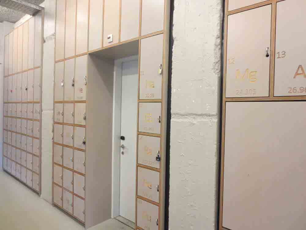 CLink NOORD Hostel Amsterdam- Lockers