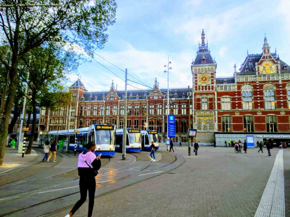 Amsterdam Centraal Station is the main point of contact when you plan a Day Trip to Amsterdam