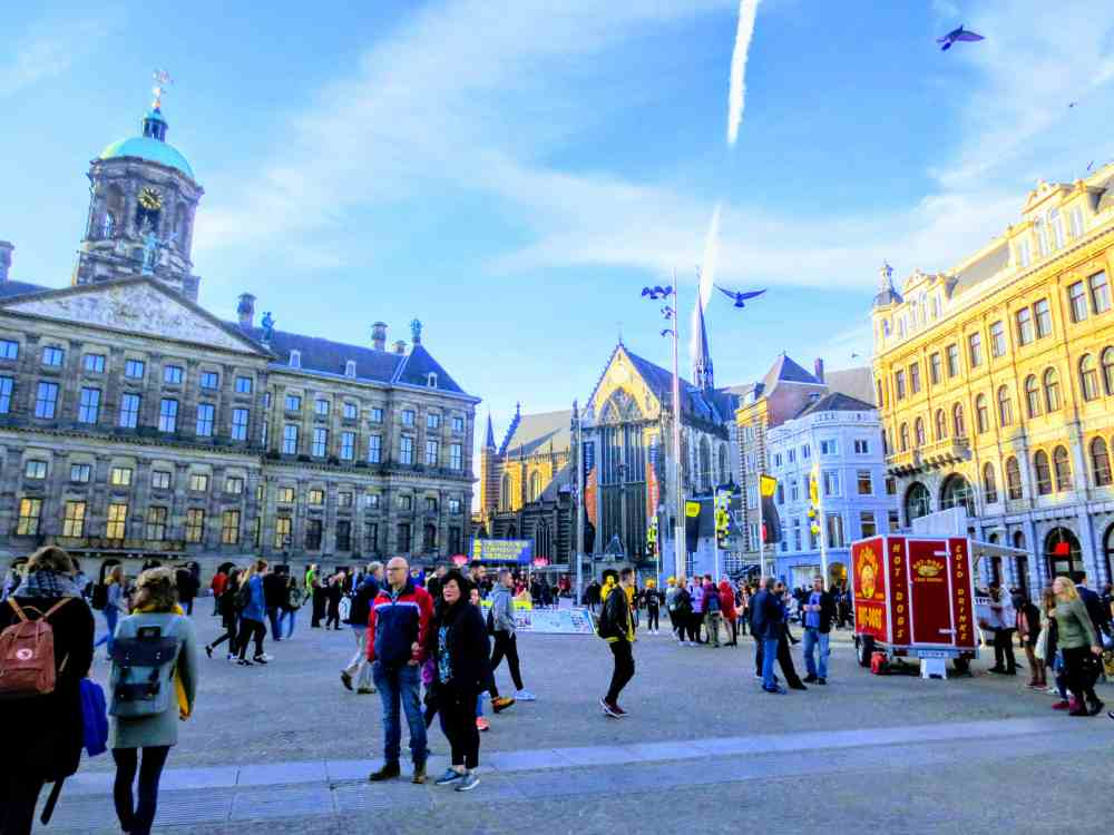 Day Trip to Amsterdam- Royal Palace Amsterdam