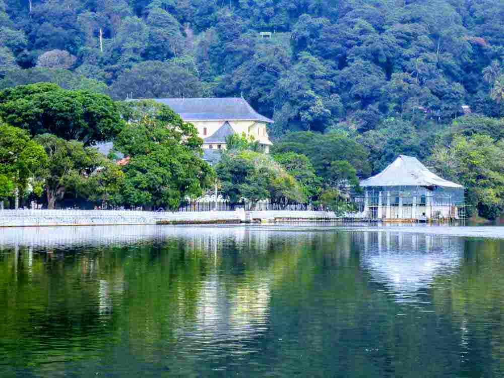 Kandy Lake view