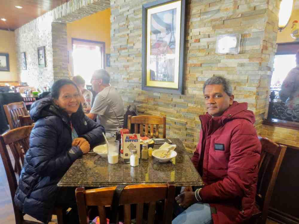 AlMacs Restaurant in Ontario, Canada. Very close to the Niagara Falls