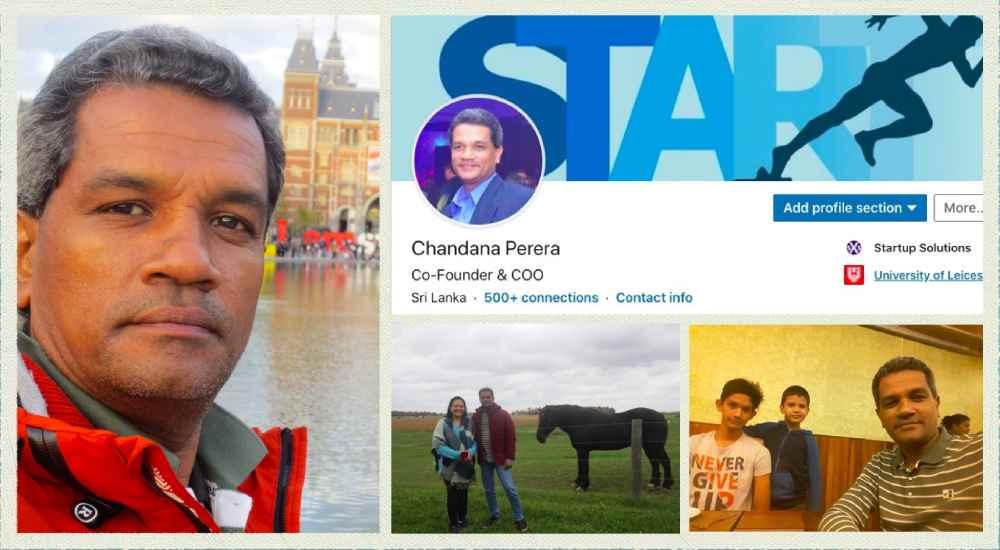 Chandana Perera Profile Pictures
