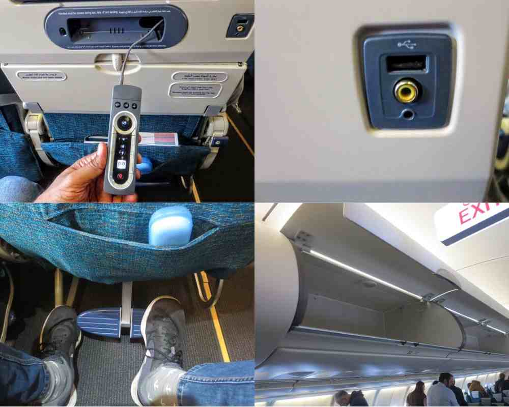 Airbus A332- Inflight Deatils