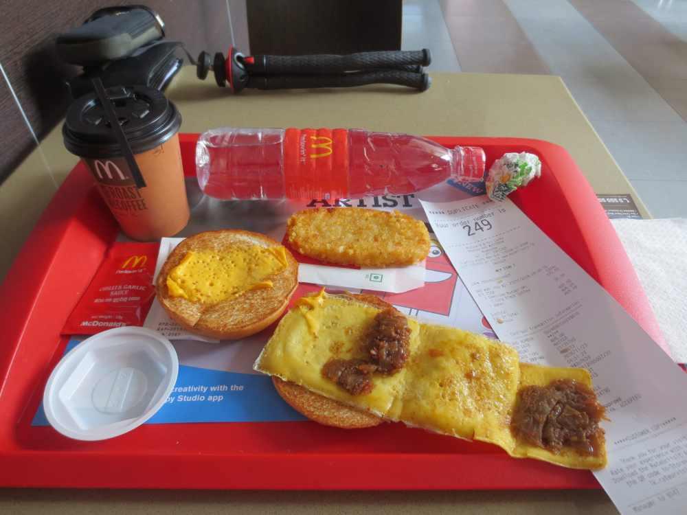 Mcdonald Seeni Sambol Berger Breakfast